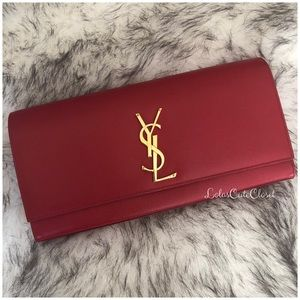 Authentic Guaranteed YSL Clutch